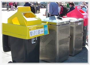 bin at the games